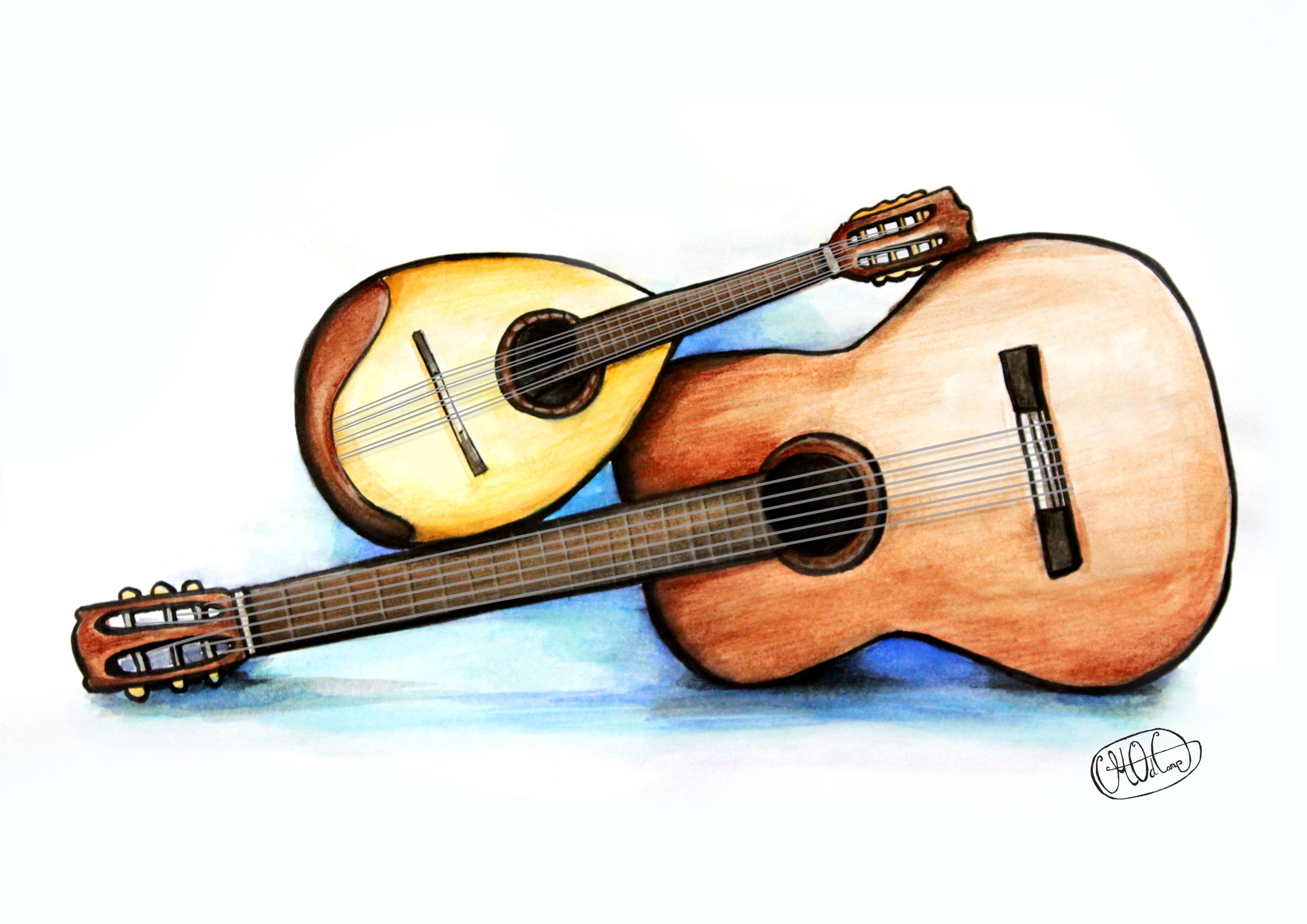 mandoline gitaar afbeelding
